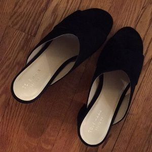 Cole Haan Shoes - COLE Hasn Gabbay black suede sandal new